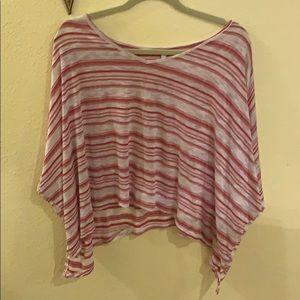 Striped Elan Shirt Size S/M